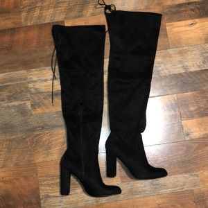 a new day Shoes - Thigh high black boots size9.5